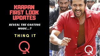 SURIYA 37 FIRST LOOK POSTER VIDEO   KAAPPAAN MOTION POSTER VIDEO  THINQ IT REVIEW