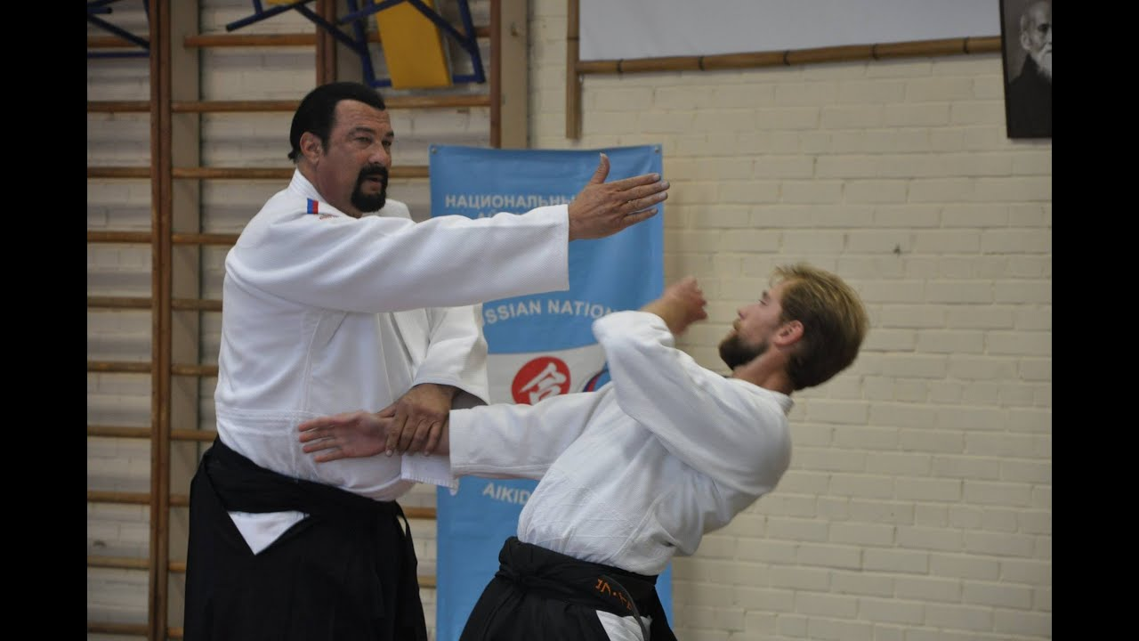 Berühmt Steven Seagal aikido master class in Moscow University 2015 - YouTube &QM_16