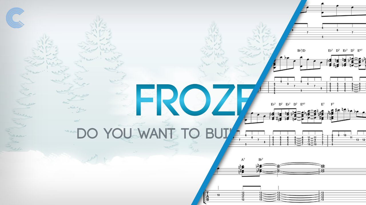 Clarinet Do You Want To Build A Snowman From Disney Frozen