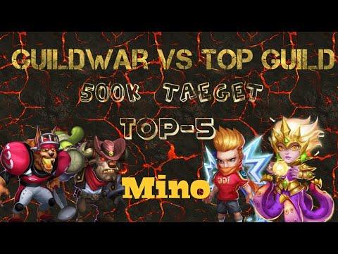 Guildwar - Mino Bomb   Top-5   5400 Score   Blackskies   Dragon-slayer   Lithuania   Castle Clash
