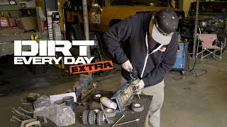 Monster Truck Axle Swap - Dirt Every Day Extra