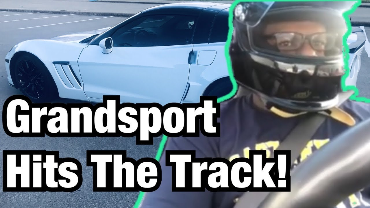 C6 Corvette Grandsport is Back At the RACE Track
