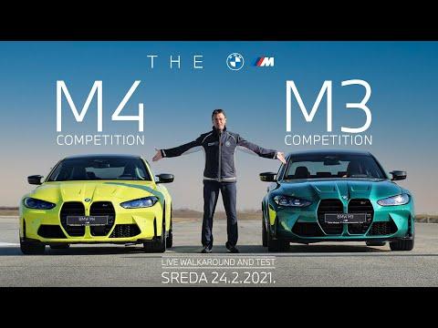 BMW M3 M4 - LIVE WALKAROUND AND TEST