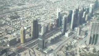 Burj Dubai video from 155th floor.flv
