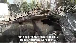 Baixar Three People Killed As Strong Earthquake Rocks Indonesia's Java, Bali