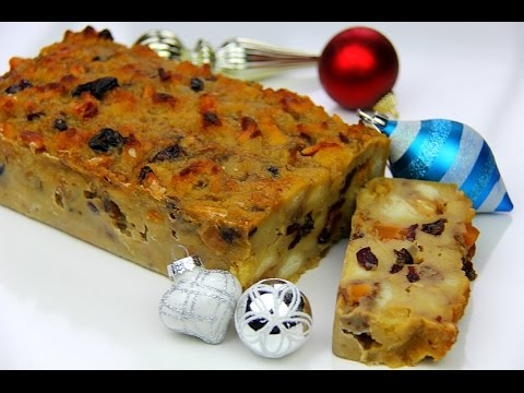 Caribbean Christmas Bread Pudding | CaribbeanPot com - YouTube