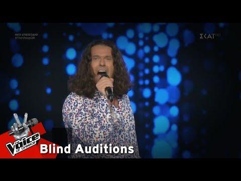 Στέλιος Καρπαθάκης – It's a Man's Man's Man's World | 15o Blind Audition | The Voice of Greece