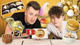 BROTHERS TRY THE WORLD'S MOST EXPENSIVE SWEETS