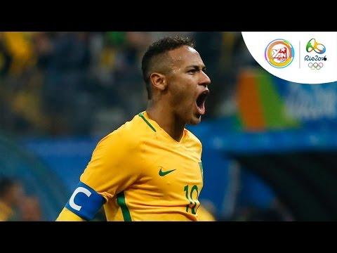 Bóng đá Olympic: Tuyển nam Brazil chỉ mất 14 giây để ghi bàn vào lưới Honduras