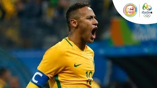 bong da olympic tuyen nam brazil chi mat 14 giay de ghi ban vao luoi honduras