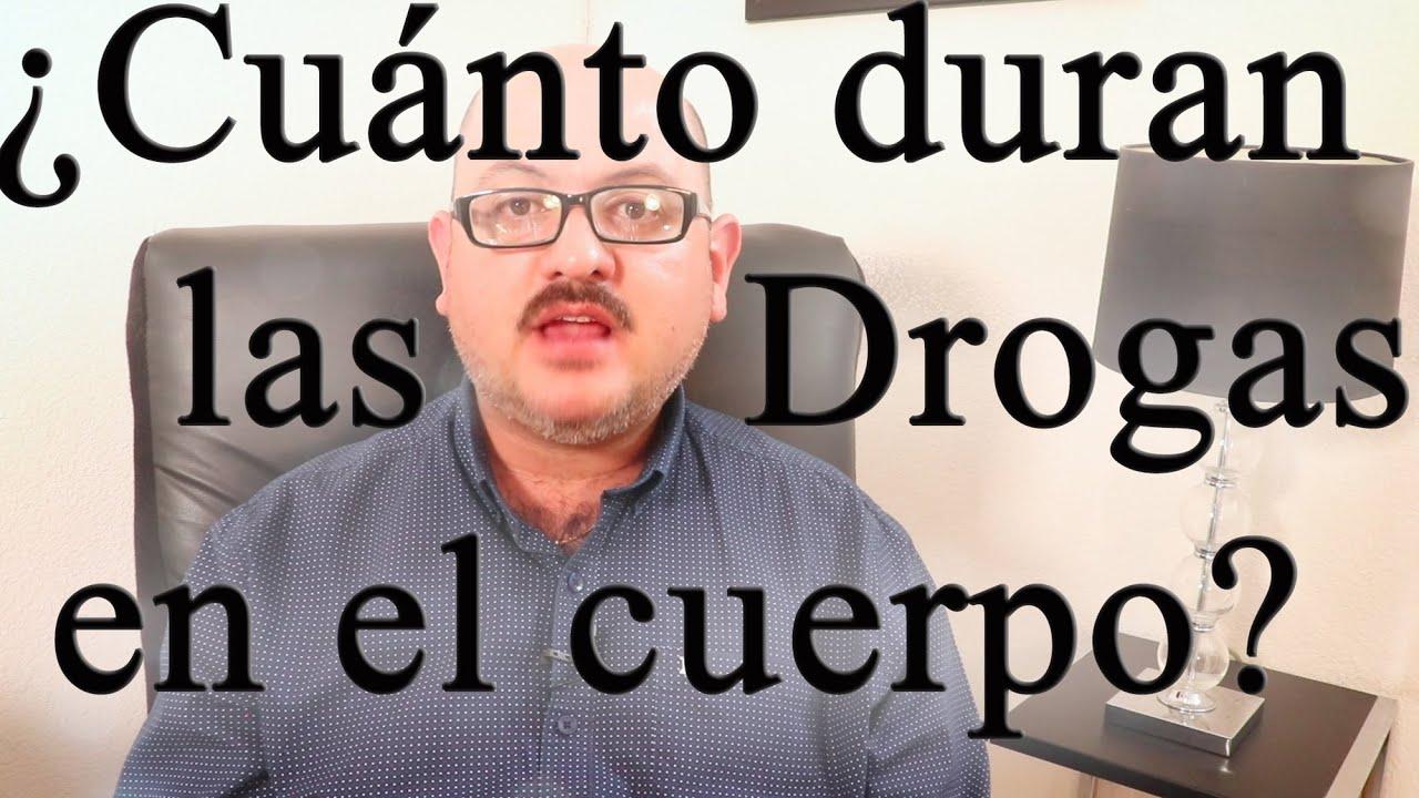 Download 💊 ANTIDOPING 💊  ¿CUÁNTO DURAN las DROGAS en el CUERPO?
