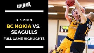 BC Nokia vs Helsinki Seagulls Full Game Highlights 3 3 2019