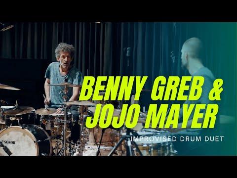Download Jojo Mayer & Benny Greb improvised Drum Duo Performance
