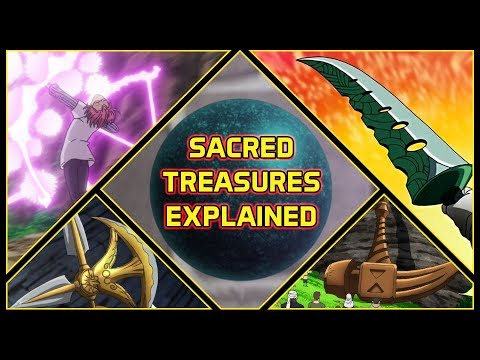 Explaining All 7 Sacred Treasures And Their Abilities | Seven Deadly Sins Explained