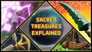 Explaining All 7 Sacred Treasures And Their Abilities  Seven Deadly Sins Explained