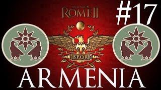 Zagrajmy w Rome 2 Total War #17  [ARMENIA] - Desant na tyłach...