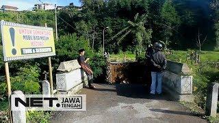 Diterjang Banjir Bandang, Jembatan Serayu di Wonosobo Runtuh!!!- NET JATENG