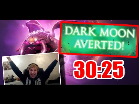 Ns занял первое место в Dark Moon 30:25 !!