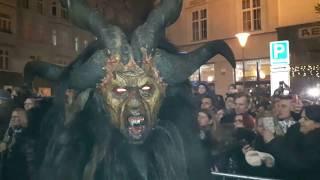 Pochod rakouských čertů v Brně - 2017