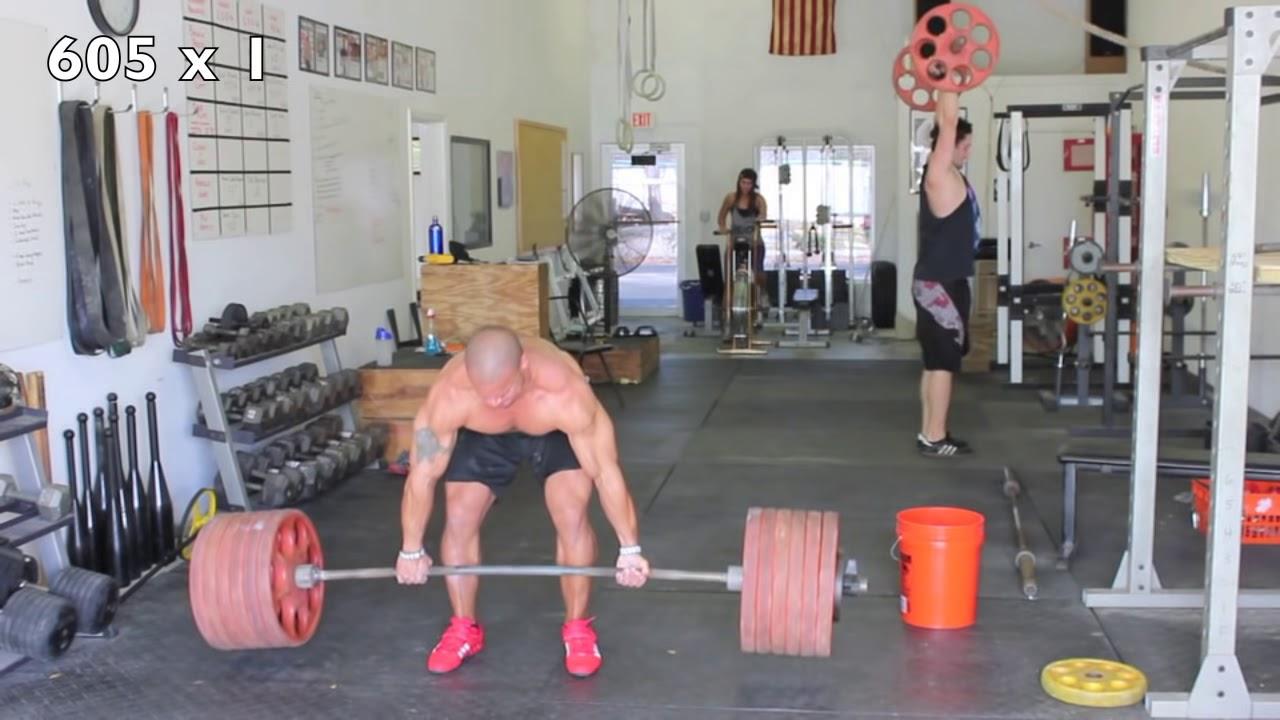 Dead Lift Workout - Elliott Hulse - YouTube