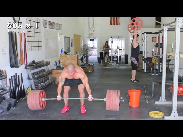 Dead Lift Workout - Elliott Hulse
