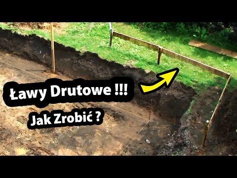 Ławy Drutowe !!! - Jak je Szybko Zrobić ??? / Budowa Domu - Fundamenty (Część 5/47)
