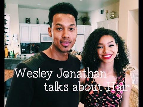 Wesley Jonathan talks about Hair  Lalas Choice