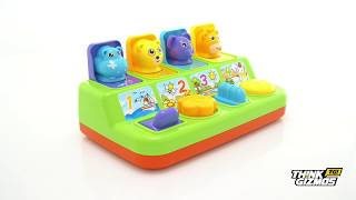 Tg728 Interactive Pop Up Animals   Educational Toy