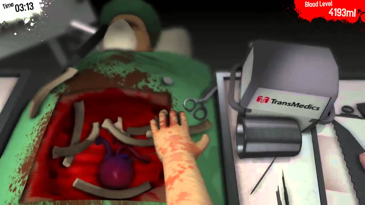 Gramy na żywo: Surgeon Simulator 2013
