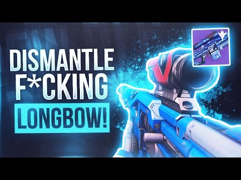 Destiny DISMANTLING MY ONLY LONGBOW - The Saddest Video On The Internet