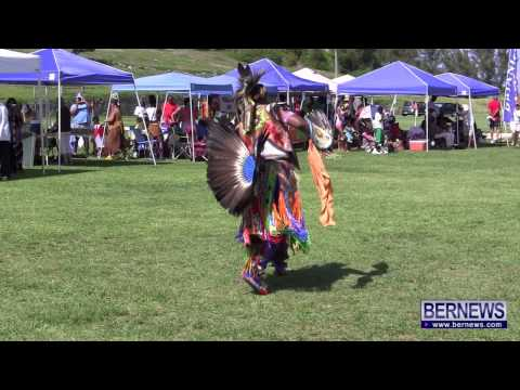 Dancer At Bermuda Pow Wow, June 22 2013