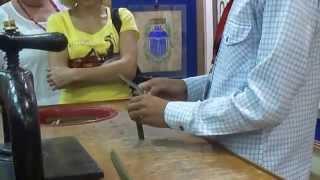 Изготовление папируса  в древнем Египте
