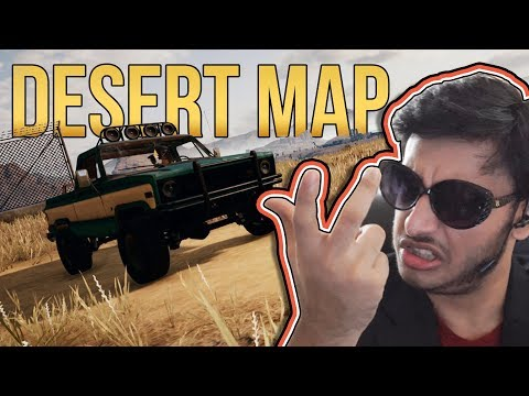 PUBG: DESERT MAP | PUBG INDIA | RAWKNEE