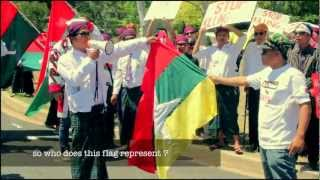 Kachin & All Ethnics Group Reject the new Flag of Myanmar used by Millitary Government