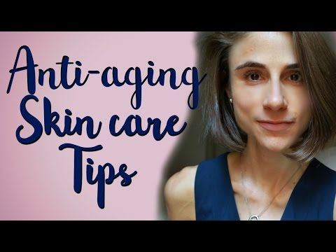 A Dermatologist's tips for anti-aging skin care