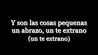 Prince Royce - Las Cosas Pequeñas [Lyrics]