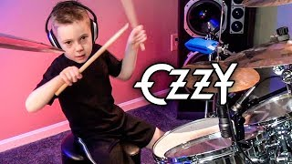 """Over The Mountain"" Avery 6 year old Drummer"