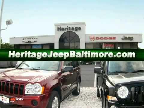 Heritage Chrysler Jeep Dodge RAM Parkville Dealer Baltimore MD Parkville MD