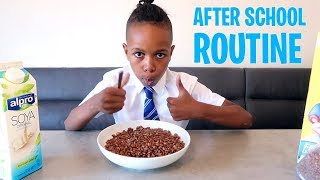 MY AFTER SCHOOL ROUTINE | Tekkerz kid