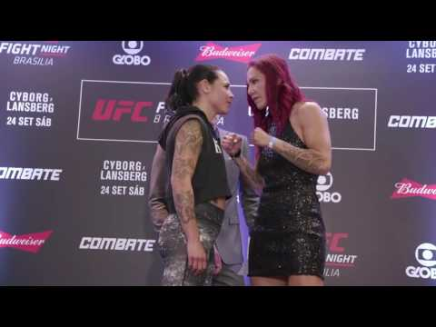 Fight Night Brasilia: Media Day Faceoffs