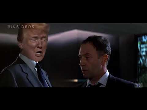 """Goldenhair"" Donald Trumps 007  -  ABC Insiders"