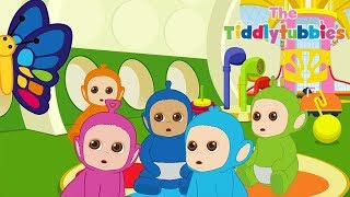 Tiddlytubbies 2D Series! ★ Episode 8: Funny Butterfly ★ Teletubbies Babies ★ Videos For Kids