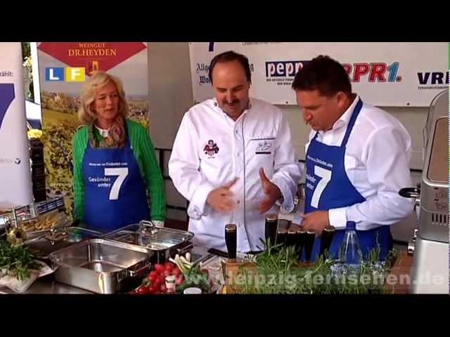 RheinRadeln 2012: Gesunde Küche von Johann Lafer und Ansturm beim Diabetes-Risikocheck