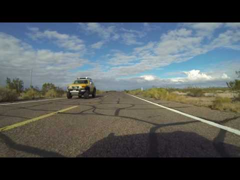 Closed US Border Patrol Checkpoint going into Gila Bend from Ajo, AZ GP015634