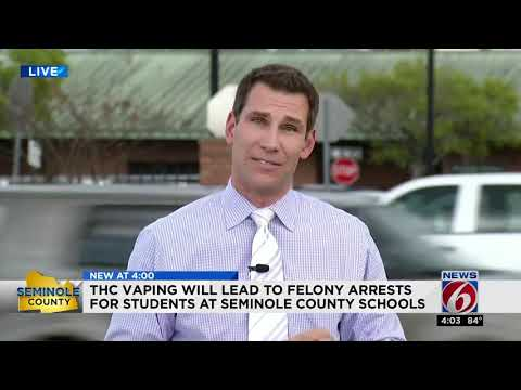 Teens vaping THC could face felony charges - YouTube