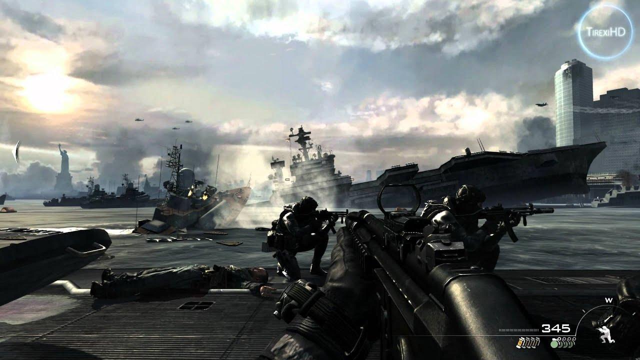 Call of Duty: Modern Warfare 3 HD gameplay - YouTube