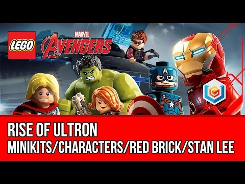 LEGO Marvel's Avengers Rise of Ultron Walkthrough (All Minikits, Red Brick, Stan Lee) streaming vf