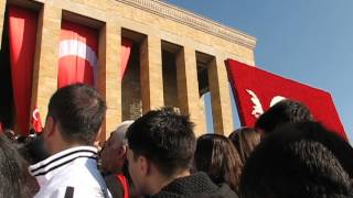 Ata'ya Saygı - 10 Kasım 2013, Anıtkabir, Ankara
