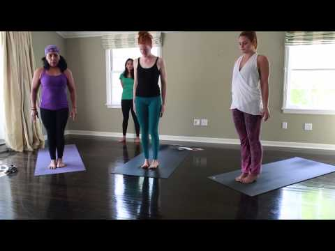 Ashtanga Yoga 45 - 60 minute home practice (Modified Half Primary)