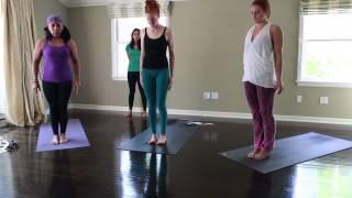 Ashtanga Yoga 45 - 60 minute home practice (Modified Half Primary)